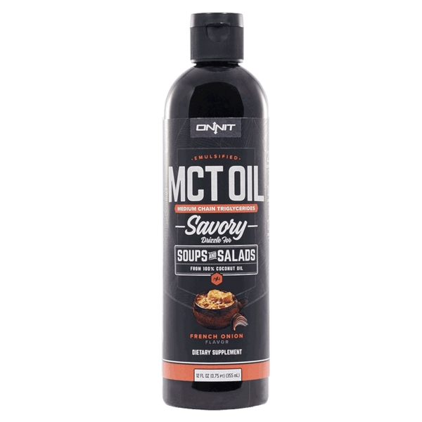 Onnit Emulsified MCT Oil, French Onion- 16 fl oz.