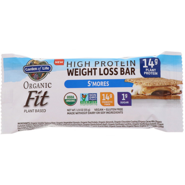 Garden of Life Organic Fit Protein Bar - Health As It Ought to Be