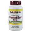 Nutribiotic Grapefruit Seed Extract (GSE) 250 mg - 60 Capsules - Health As It Ought to Be