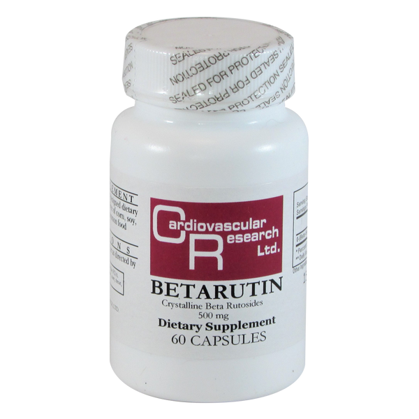 Cardiovascular Research Betarutin 500 mg - 60 Capsules - Health As It Ought to Be