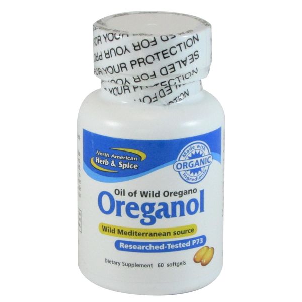 North American Herb and Spice Oreganol P73 - 60 Softgels - Health As It Ought to Be
