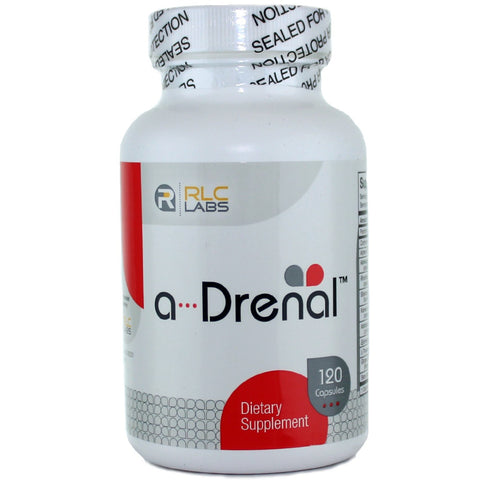 RLC Labs A-Drenal Support - 120 Capsules - Health As It Ought to Be