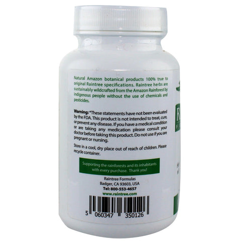 RainTree Formulas or Rainforest Pharmacy Amazon Spiro 650 mg - 120 Vegetarian Capsules - Health As It Ought to Be