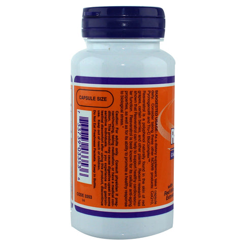 Now Foods - Resveratol 250 mg - 60 capsules
