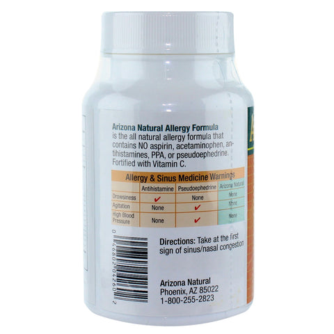 Arizona Naturals - Allergy Formula - 60 capsules