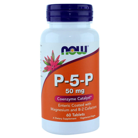 Now Foods P5P 50mg - 60 Tabs