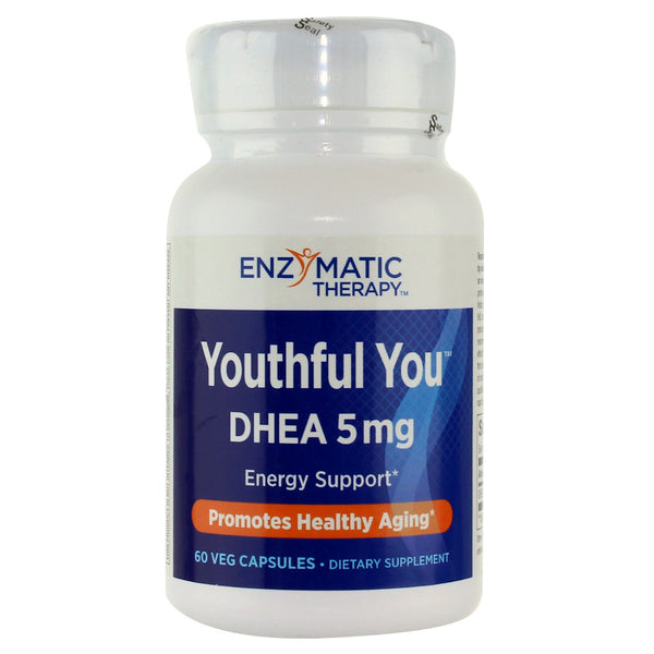 Enzymatic Therapy Dhea 5 mg - 60 Capsules - Health As It Ought to Be