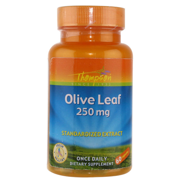 Thompson Olive Leaf 250 mg - 60 Capsules