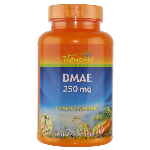 Thompson DMAE 250mg - 60 Capsules