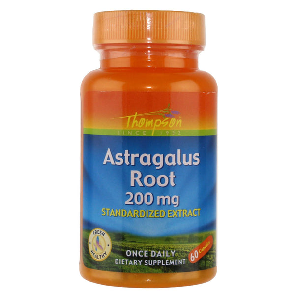 Thompson Astragalus 200 mg - 60 Capsules - Health As It Ought to Be