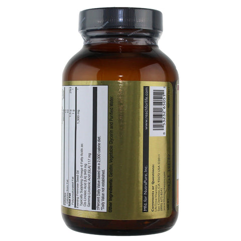 Lifetime Evening Primrose Seed Oil 1300 mg - 50 Softgels - Health As It Ought to Be