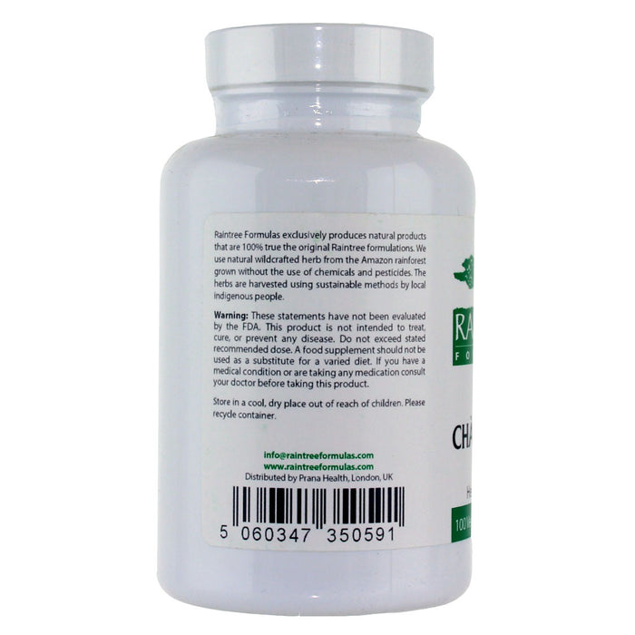 RainTree Formulas Cha De Bugre 500 mg - 100 Vegetarian Capsules - Health As It Ought to Be