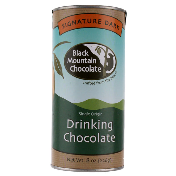 Black Mountain Chocolate Drinking Chocolate - Signature Dark 8 oz.