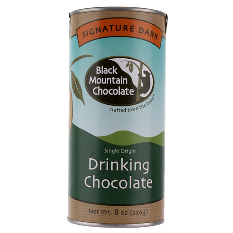 Black Mountain Chocolate Drinking Chocolate - Signature Dark 8 oz. - Health As It Ought to Be