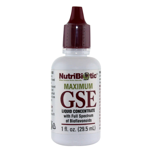 Nutribiotic Grapefruit Seed Extract (GSE) - 29.5 ml - Health As It Ought to Be