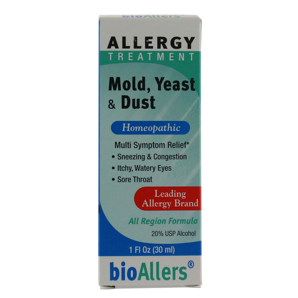 BioAllers Mold, Yeast & Dust - 1 oz. liquid - Health As It Ought to Be