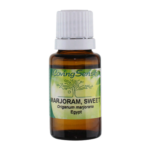 Loving Sense Marjoram, Sweet (Origanum Marjorana) Oil, Egypt - 15 ml - Health As It Ought to Be