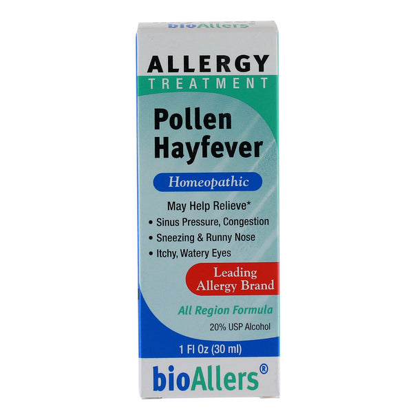 BioAllers Pollen Hayfever - 1 oz. - Health As It Ought to Be