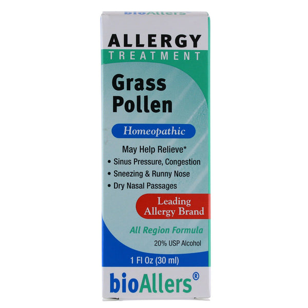 BioAllers Grass Pollen - 1oz. - Health As It Ought to Be