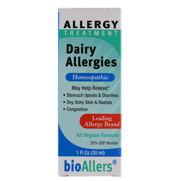 BioAllers Dairy Allergies - 1oz.