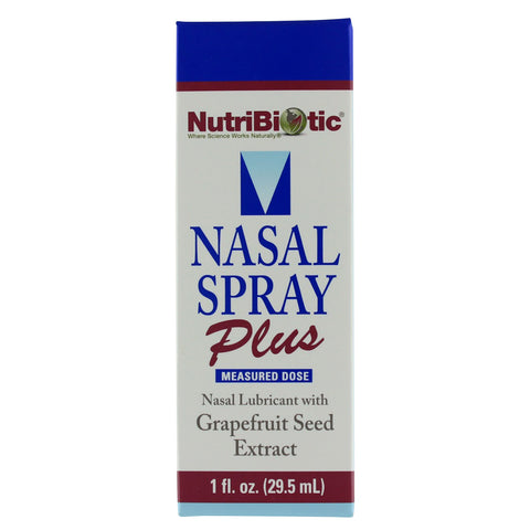 Nutribiotic Nasal Spray Plus - 1 fl. oz. - Health As It Ought to Be