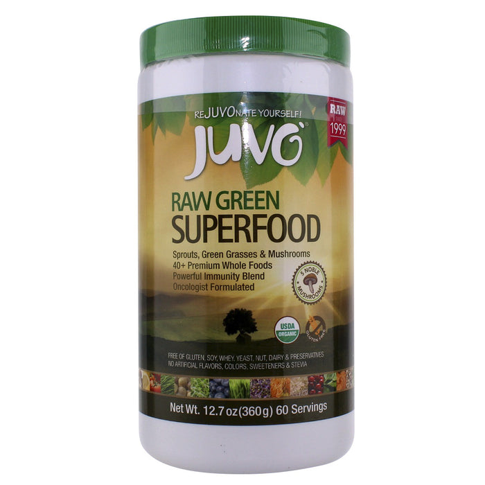 Juvo Raw Green Superfood - 60 servings - Health As It Ought to Be