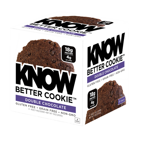 Know Foods Better Cookies® Double Chocolate - 1 box (4 pieces)