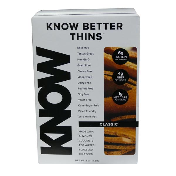 Know Foods Better Thins - 8 oz. - Health As It Ought to Be