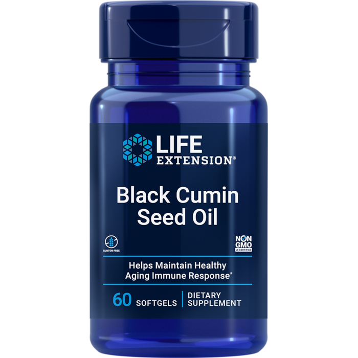 Life Extension Black Cumin Seed Oil - 60 Capsules