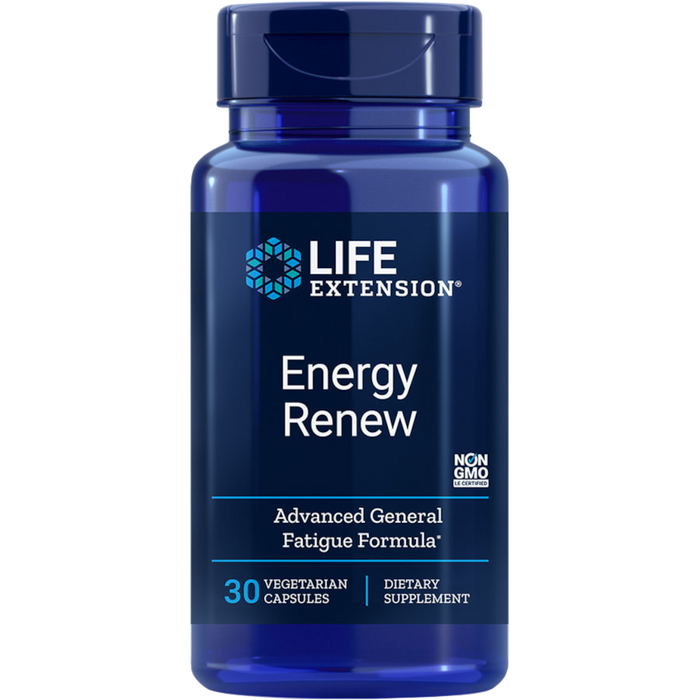Life Extension Energy renew 200 mg - 30 vegetarian Capsules