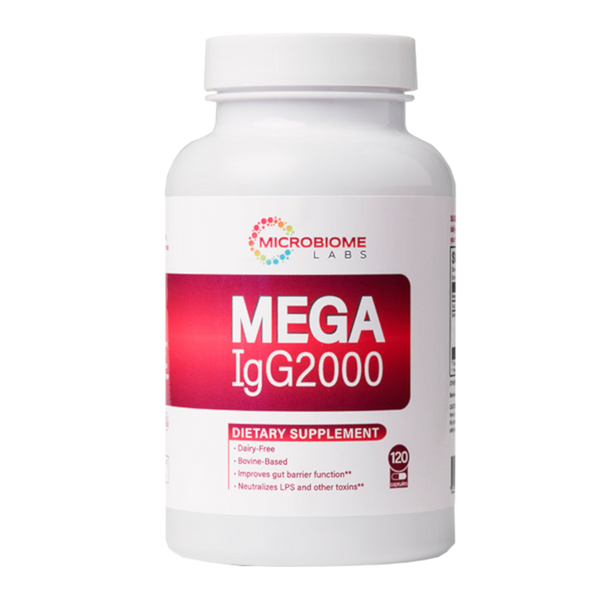 Microbiome Labs MegaIgG2000 120 capsules - Health As It Ought to Be