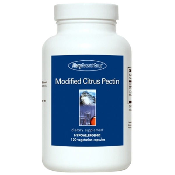 Allergy Research Group Modified Citrus Pectin - 120 Vegetarian Capsules - Health As It Ought to Be