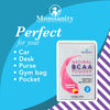 Momsanity Single Serving Stick Packs Natural BCAA Powder Raspberry Lemonade - 20 Individual Servings - Health As It Ought to Be