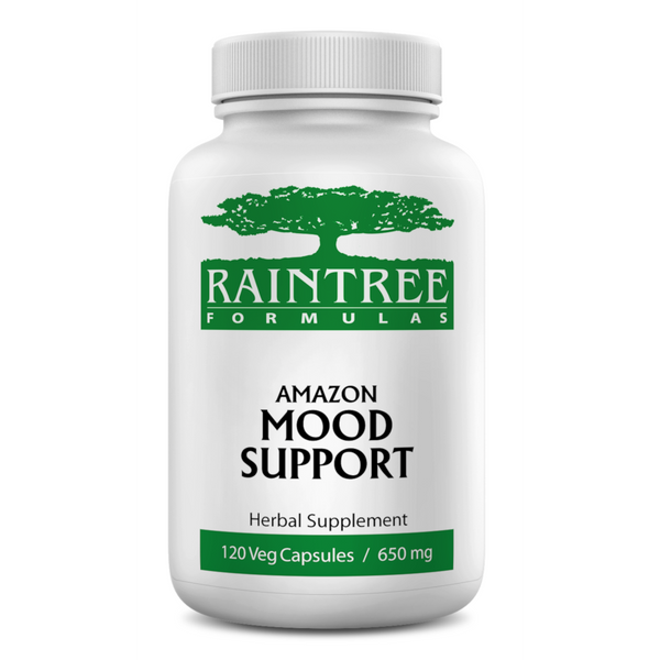RainTree Formulas or Rainforest Pharmacy Amazon Mood Support 650 mg - 120 Vegetarian Capsules - Health As It Ought to Be