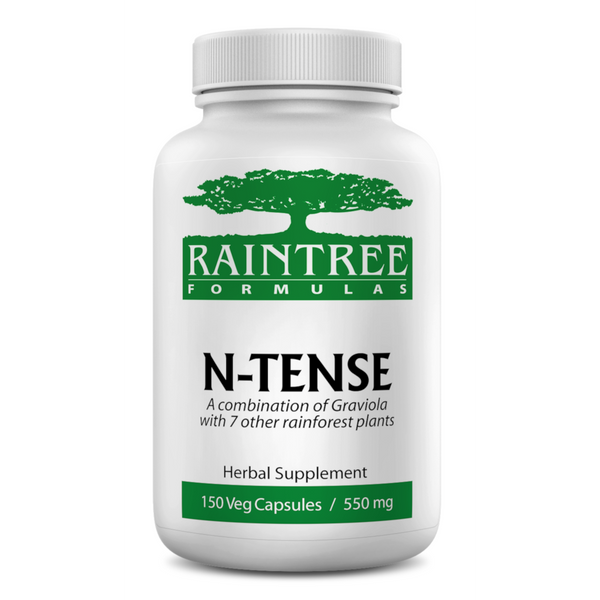 RainTree Formulas N-Tense 700 mg - 120 Veg Capsules - Health As It Ought to Be