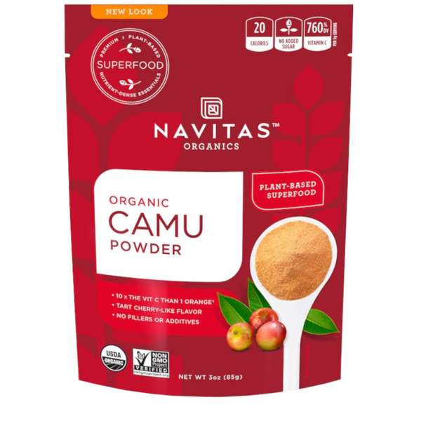 Navitas Camu Powder - 3 oz. - Health As It Ought to Be