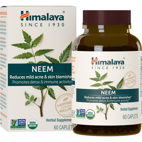Himalaya Herbal Healthcare Neem 600 mg - 60 Capsules - Health As It Ought to Be