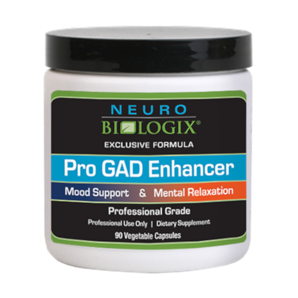 NeuroBiologix Pro GAD Enhancer - 90 Vegetable Capsules - Health As It Ought to Be