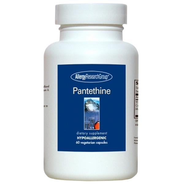 Allergy Research Group Pantethine - 60 Vegetarian Capsules