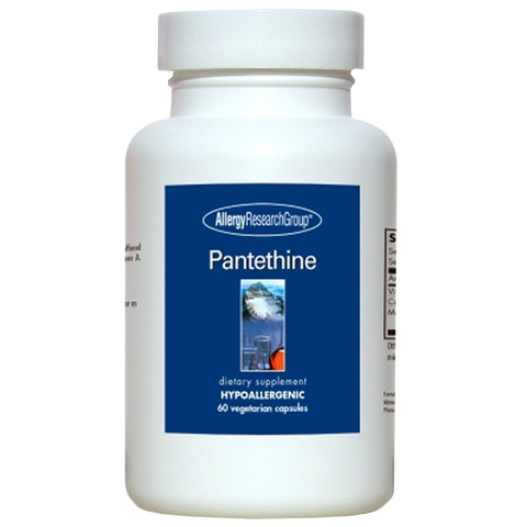 Allergy Research Group Pantethine - 60 Vegetarian Capsules - Health As It Ought to Be