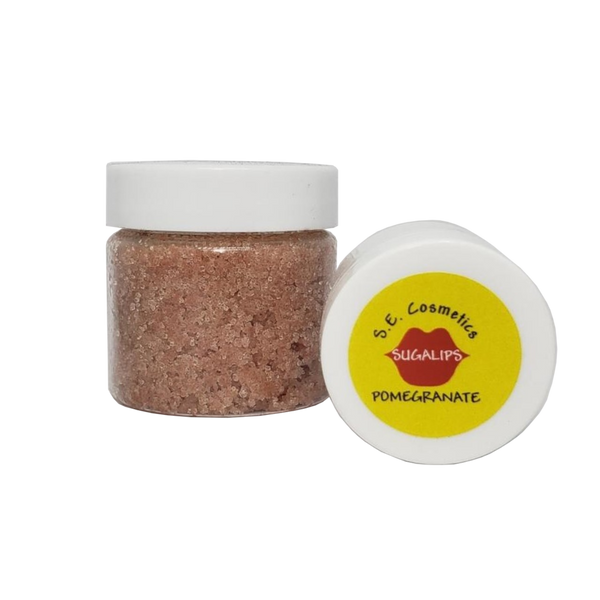 SE Cosmetics Lip Scrub, Pomegranate - Health As It Ought to Be