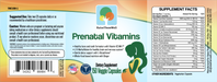Raise Them Well Physician Developed Prenatal & Breastfeeding Multivitamin - 150 Veggie Capsules - Health As It Ought to Be