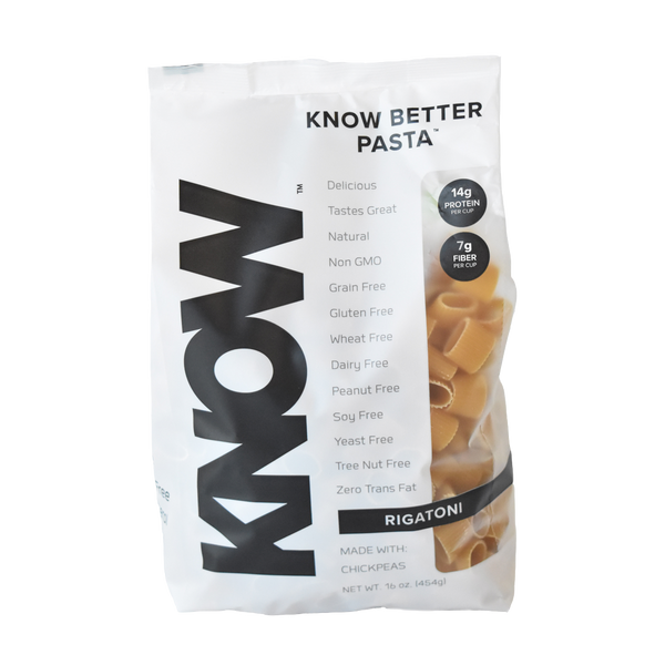 Know Foods Better Pasta Rigatoni - 16 oz. - Health As It Ought to Be