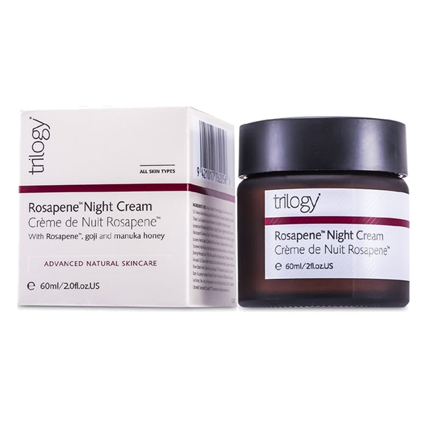 Trilogy Rosapene Night Cream - 2 fl oz. - Health As It Ought to Be