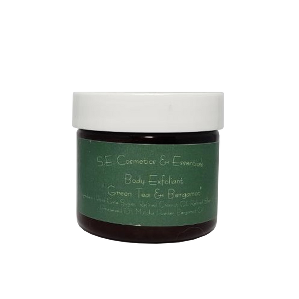 SE Cosmetics Body Scrub, Green Tea & Bergamot
