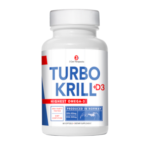 3 Care Therapeutics Turbo Krill - 60 Softgels - Health As It Ought to Be