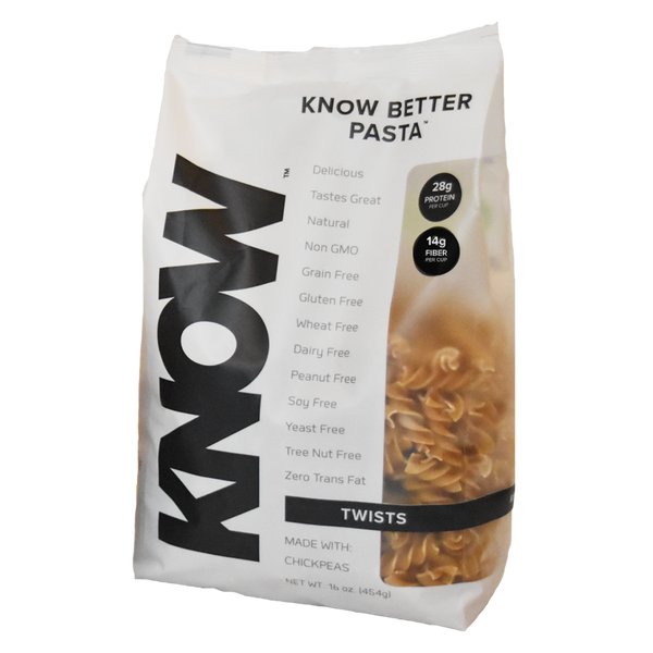 Know Foods Better Pasta Twists - 16 oz. - Health As It Ought to Be