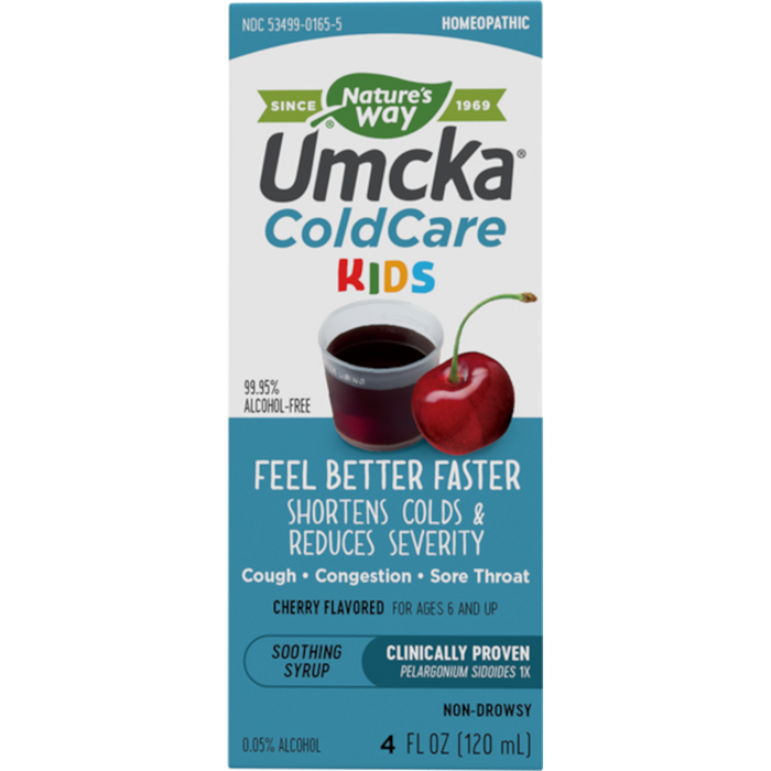 Nature's Way Umcka ColdCare Children's Cherry Syrup - 4 oz