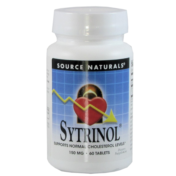 Source Naturals Sytrinol 150 mg - 60 Tablets - Health As It Ought to Be