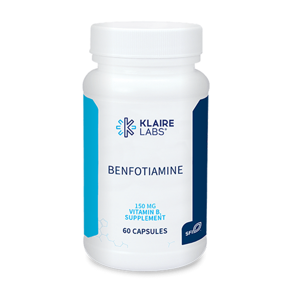 Klaire Labs Benfotiamine 150 mg (formerly Prothera Benfotiamine) - 60 Capsules - Health As It Ought to Be